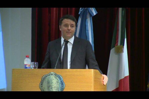 Renzi Buenos Aires