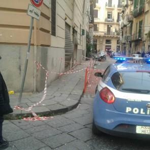 esplosione Napoli