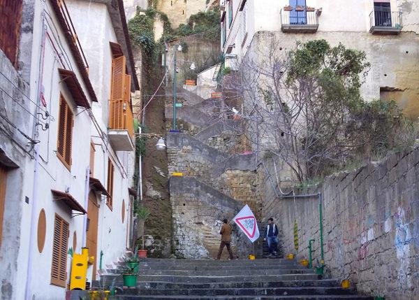 scale di vico canalone all'olivella