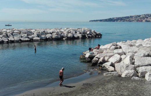 Bagnanti Napoli