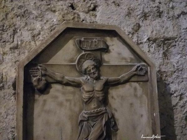 Crocifisso miracoloso di Sant'Agnello - particolare