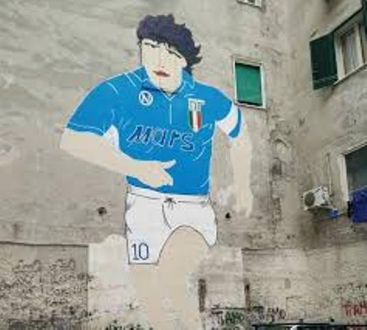 Murales dedicati a Maradona