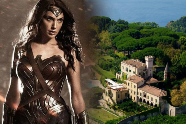 Wonder Woman Villa cimbrone