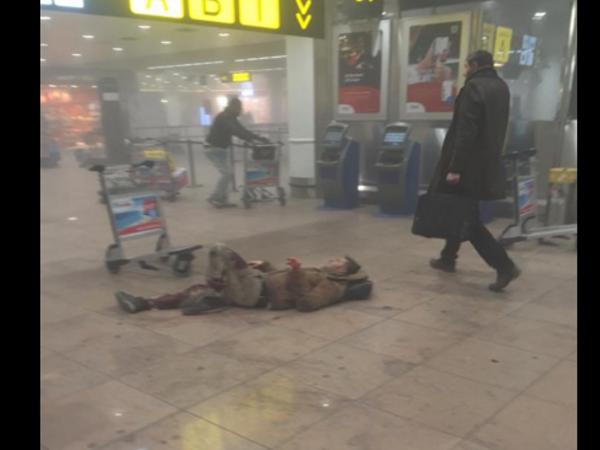 attentato aeroporto di bruxelles morti