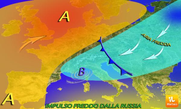 freddo russia meteo calo termico