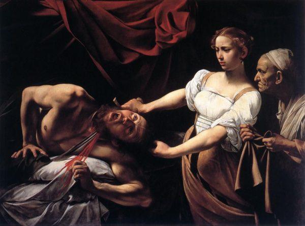 Giuditta decapita Oloferne, Caravaggio
