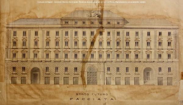 Palazzo San Giacomo, progetto