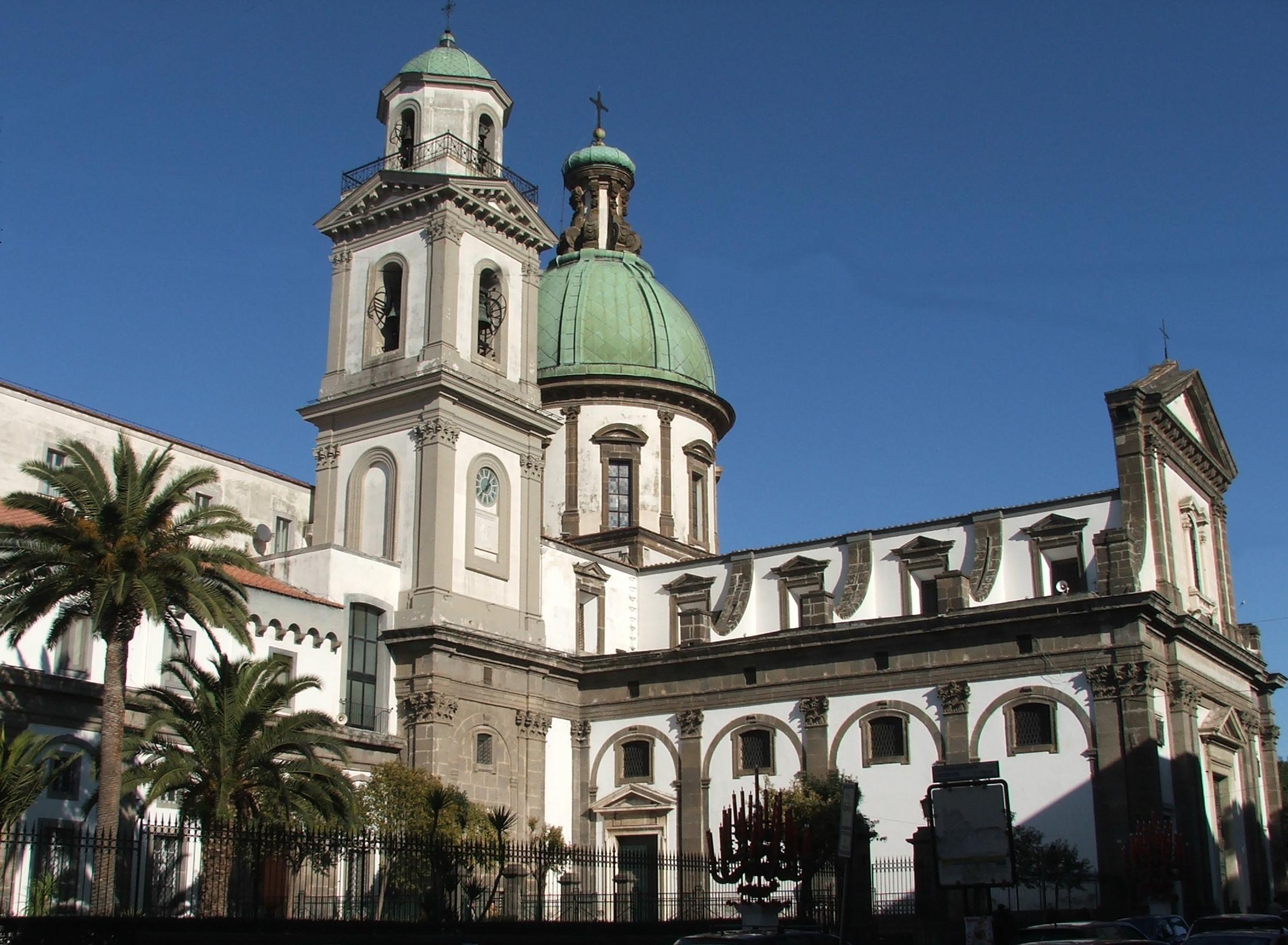 Risultati immagini per Santuario della Madonna dellarco comune di SantAnastasia