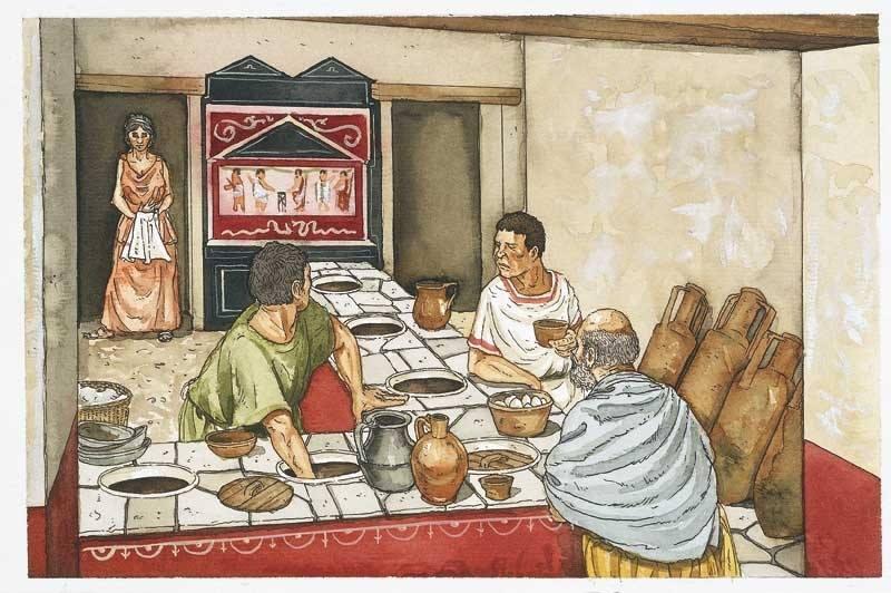 Pompei nasce il ristorante caupona piatti tipici for Piatti tipici roma