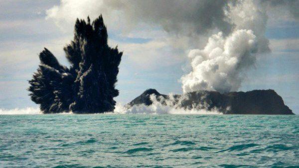 vulcano mar tirreno