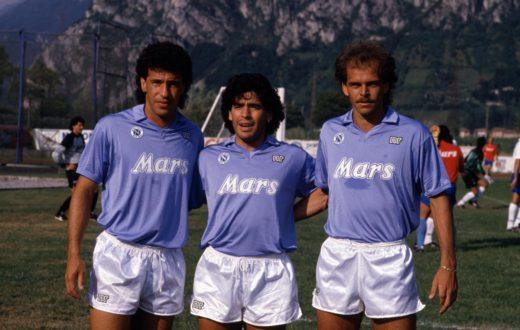 Careca, Maradona ed Alemao