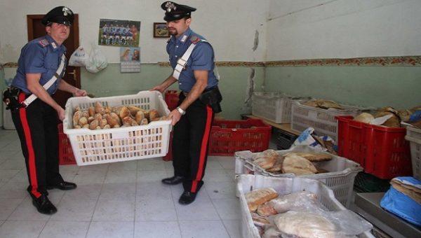 pane carne sequestro