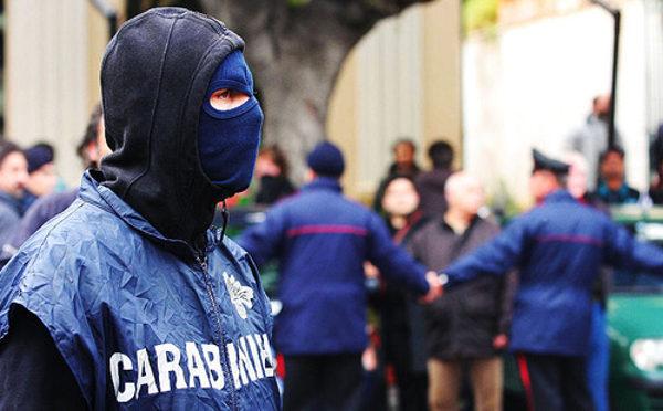 Marano carabinieri antimafia