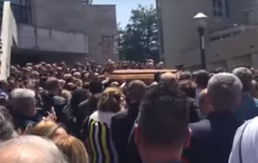 funerale massimo borrelli made in sud