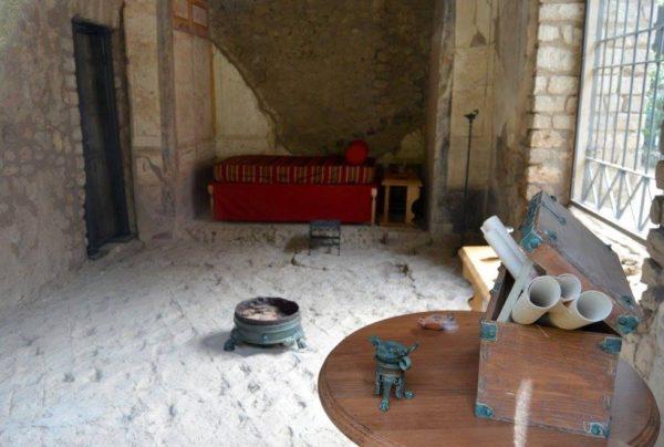 villa imperiale pompei camera da letto
