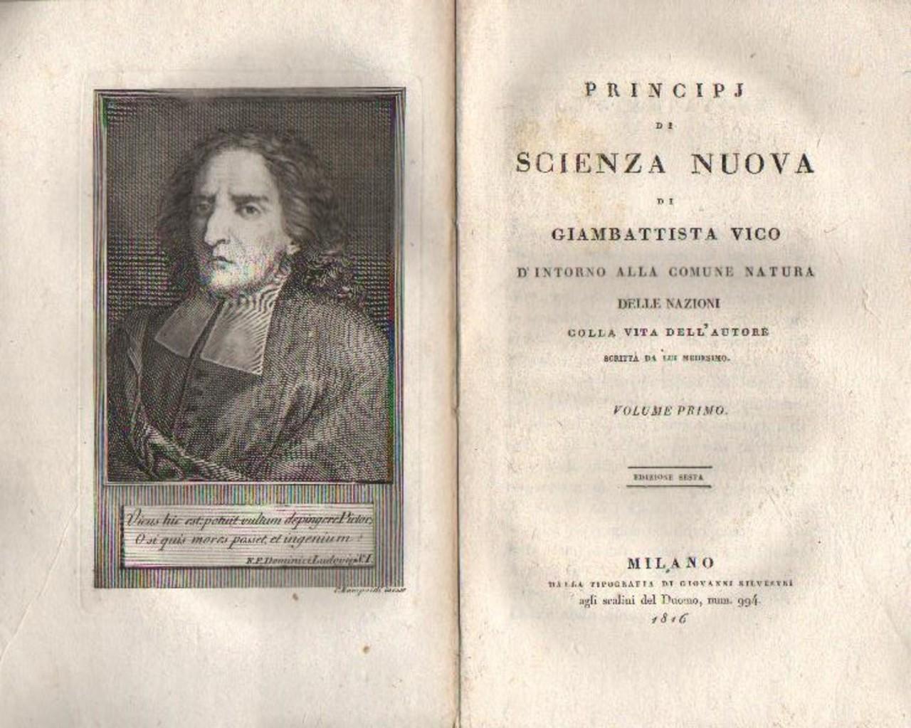 Scienza Nuova, Giambattista Vico