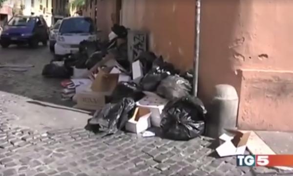roma spazzatura tg5 rocco cillo