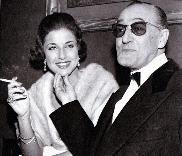 Franca Faldini e Totò