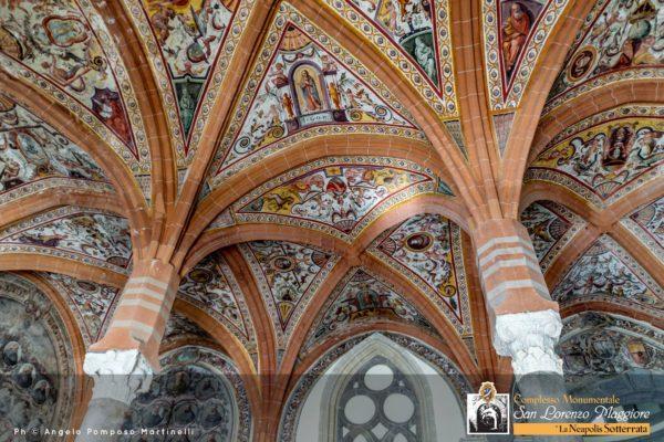 Sala Capitolare di San Lorenzo Maggiore. Foto: Angelo Pomposo Martinelli