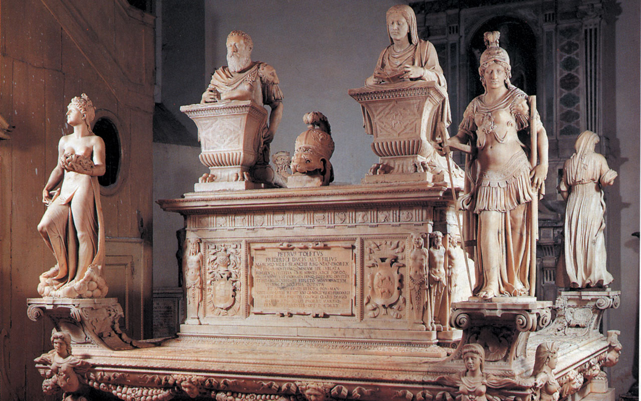 Sepolcro del vicerè don Pedro de Toledo