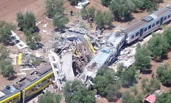 incidente treno puglia