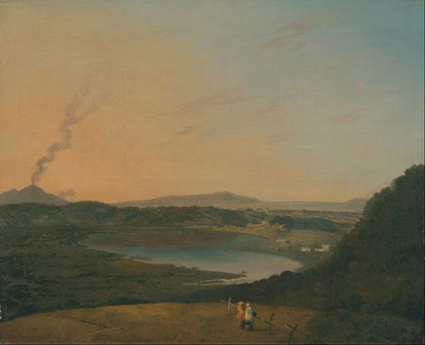 Richard Wilson, Lago d'Agnano