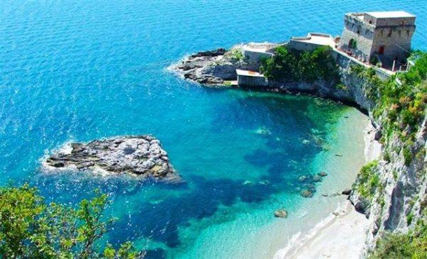 isole erchie, spiaggia del cauco