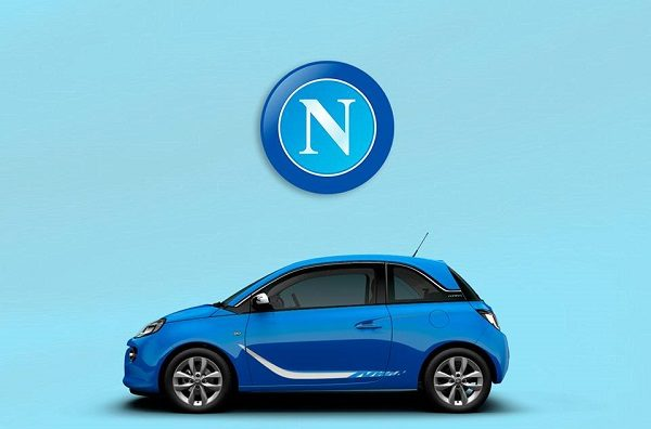 opel nuovo sponsor istituzionale del napoli fornir auto