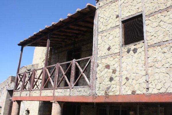 Domus di Pompei costruita in Opus Craticium