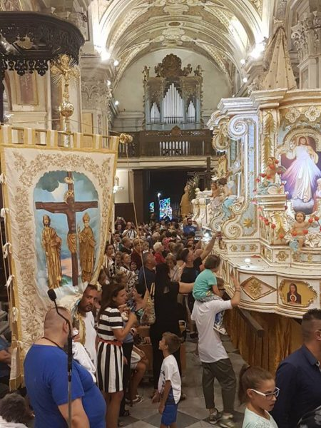 processione 15 agosto ercolano 2