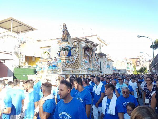 processione 15 agosto ercolano