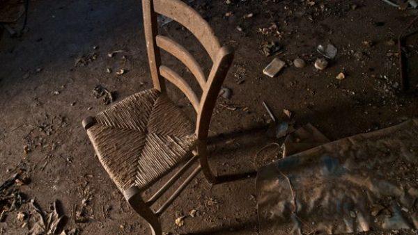 sedia di paglia