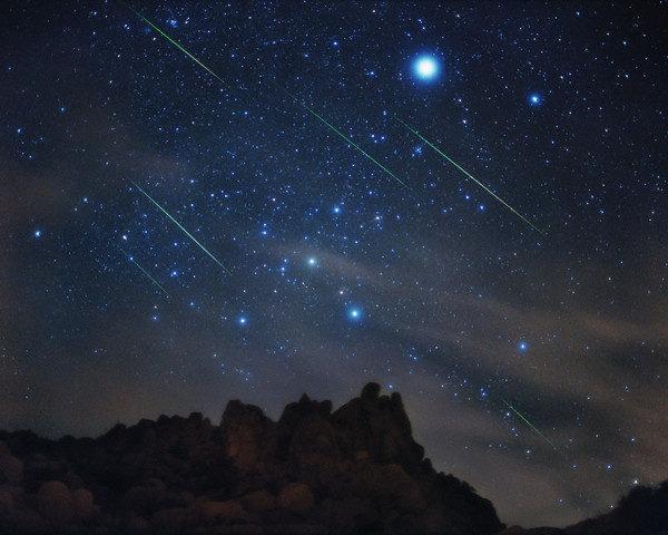 San lorenzo sul vesuvio per ammirare le stelle cadenti le for Piani di progettazione domestica con foto