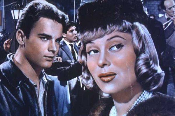 """Locandina del film """"Guaglione"""" del 1957"""