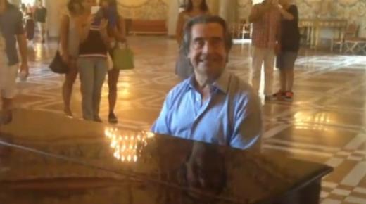 Riccardo Muti al Museo di Capodimonte