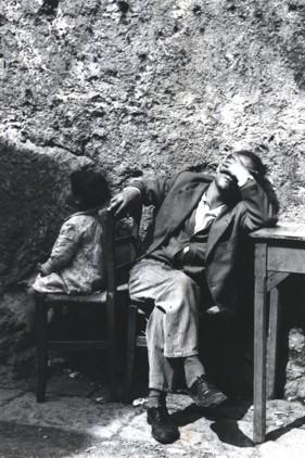 """""""Il disoccupato"""", Napoli 1956"""