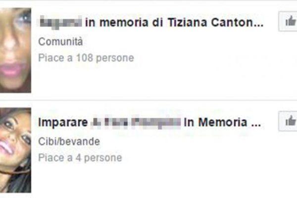 Tiziana Cantone Facebook