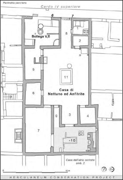 Elaborazione akhet srl per Herculaneum Conservation Project