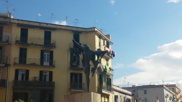 Vittoria alata, monumento ai caduti di Piazza Trieste