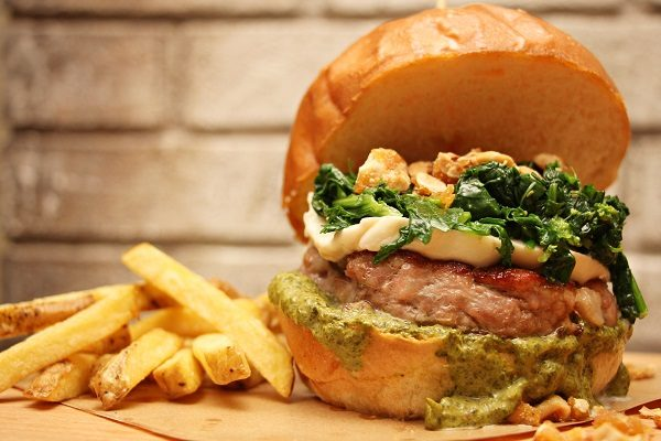 Cookery Bistrò Panino hamburger friarielli