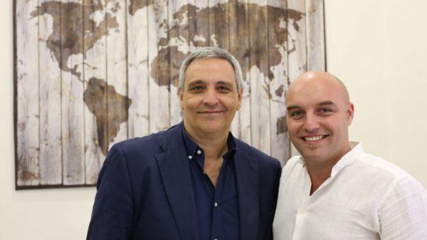 Maurizio De Giovanni e Mimi De Maio