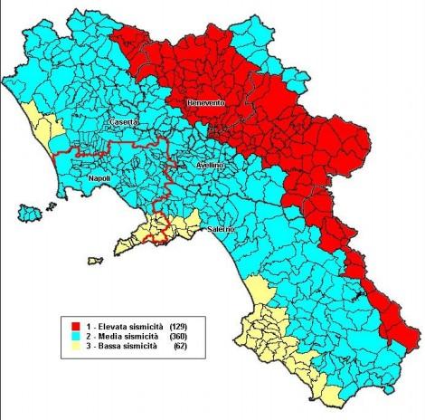 Rischio Sismico Campania