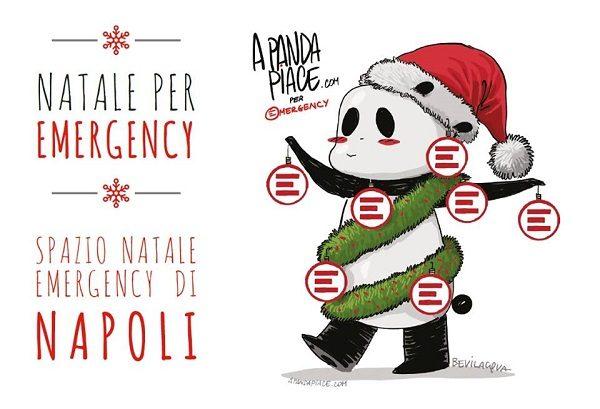 Spazio Natale Emergency 2016: l'inaugurazione