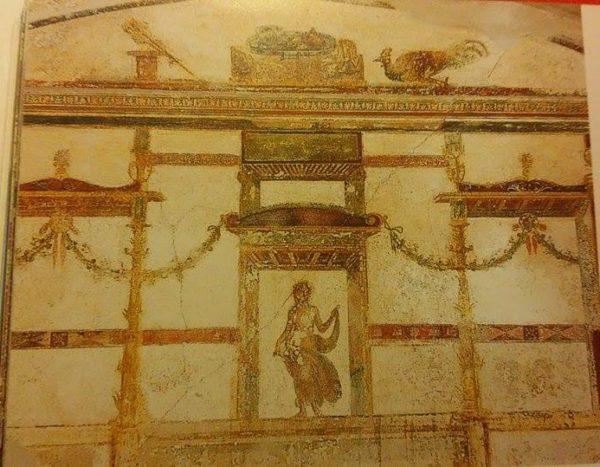 """Casa di Giulio Polibio, Pompei (tratto da """"Pompei. Guida agli scavi"""", fotografie di Alfredo e Pio Foglia)"""