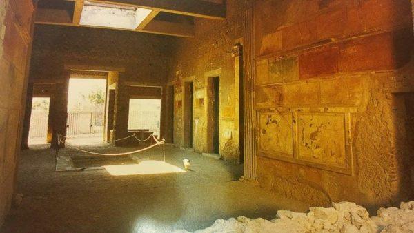 """Casa di Sallustio, Pompei (tratto da """"Pompei. Guida agli scavi"""")"""