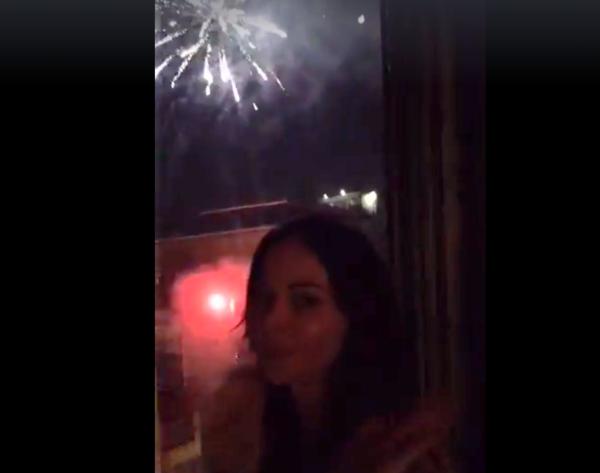 Nina Moric, dopo le polemiche ecco i fuochi d'artificio
