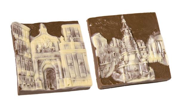 porte e piazze di cioccolato del maestro Gennaro Bottone
