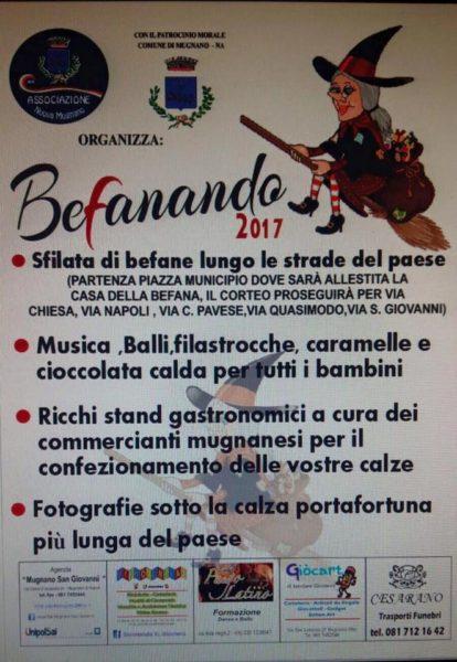 """""""Befanando 2017"""" a Mugnano"""