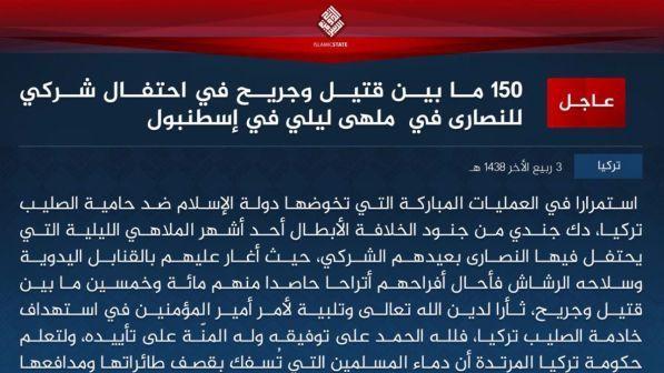 comunicato Isis