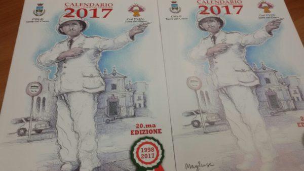 Calendario Greco.Torna Il Calendario Dei Vigili Urbani 20esima Edizione A